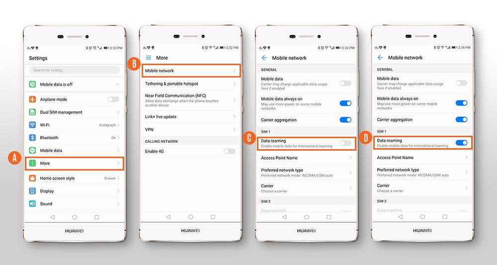 How to install BNESIM 4G LTE SIM card into your mobile
