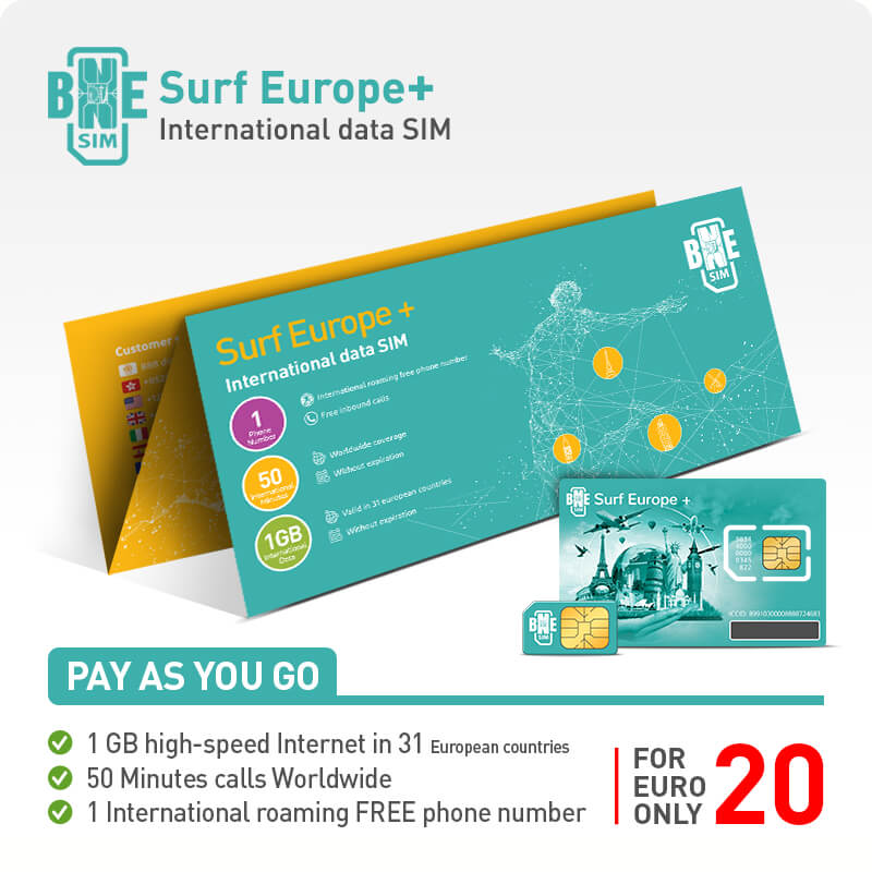 BNESIM | Global Data Sim Card | The best International SIM card