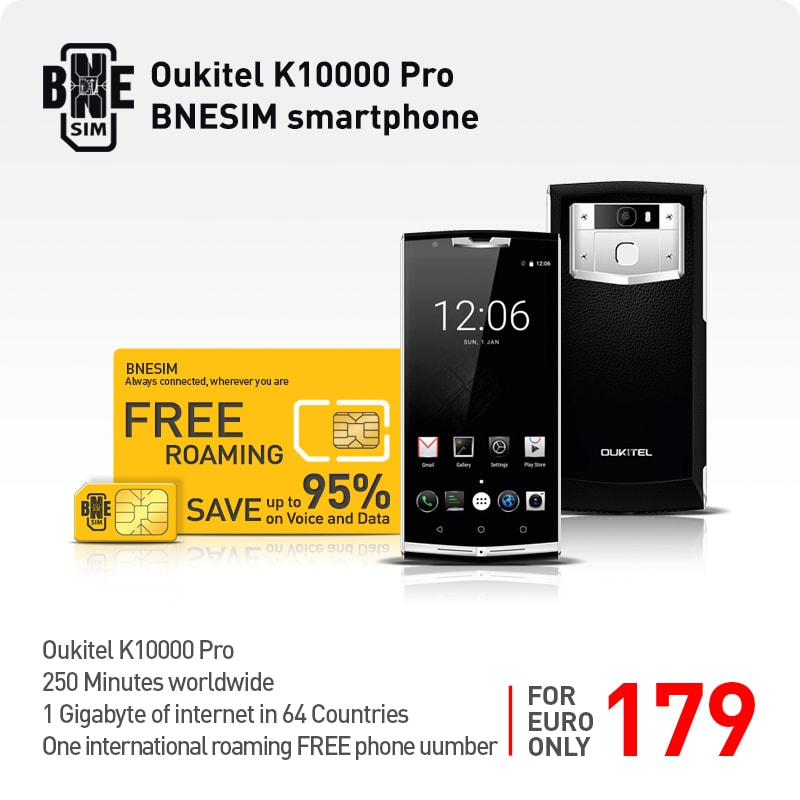 Oukitel K10000 Pro BNESIM smartphone