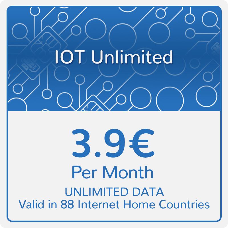 BNESIM IoT Unlimited