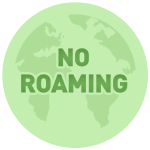 NO ROAMING CHARGES