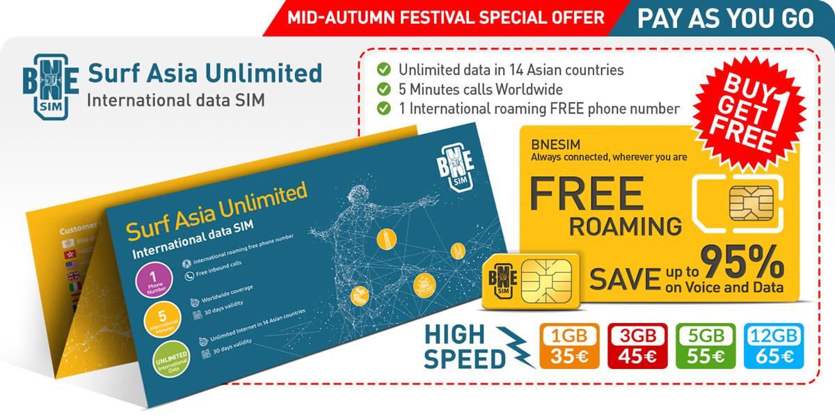 BNESIM Surf Asia Unlimited