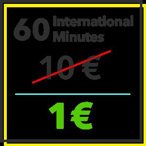 Black Friday - 60 International minutes