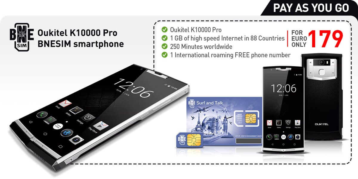 BNESIM - Oukitel 10000 Pro